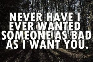 i want you quote
