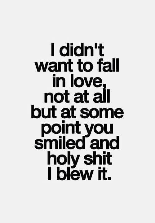 fall inlove cute quote