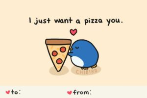 flirty pizza funny quote