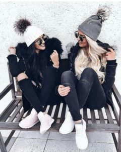 lack skinnies winter outfit