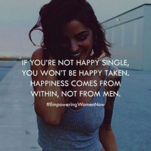 be happy single quote