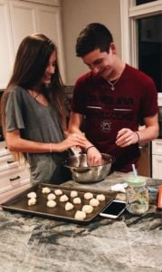 couple cooking picture