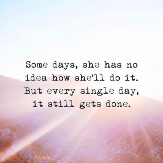 things gets done quote