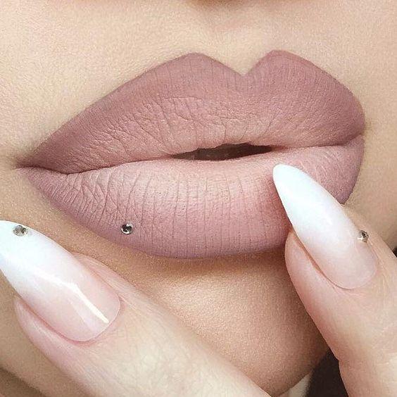 ombre lipstick