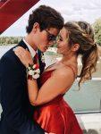 prom couple picture idea
