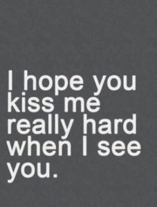 kiss me quotes