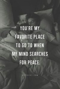 you are my favorite place