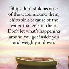 Don't Let It Weigh You Down