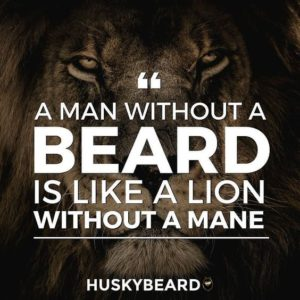 beards quotes for men