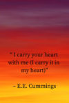 carry your heart with me