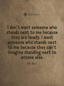stand next to me