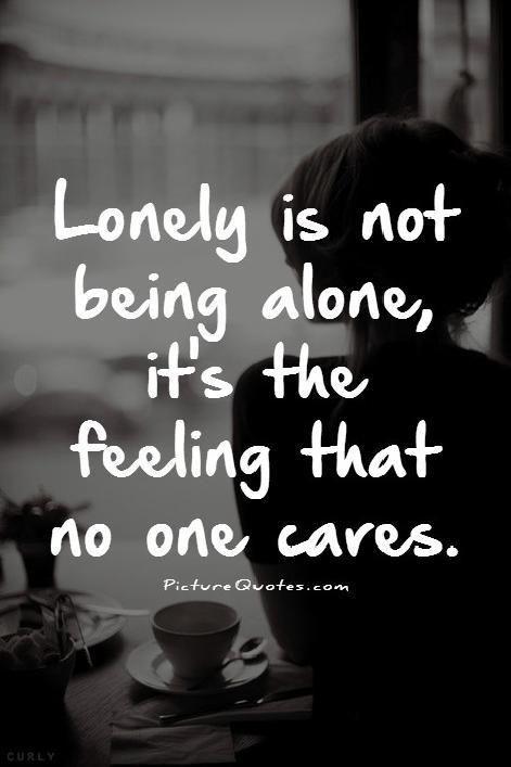 never make someone feel alone