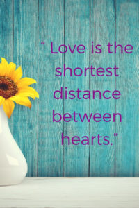 distance between hearts