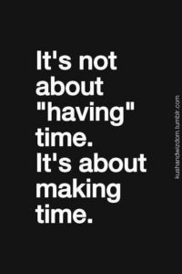 making time couple goal