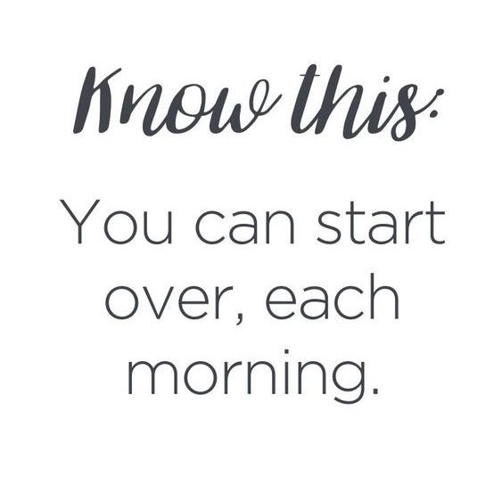 you can start each day quote