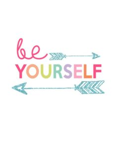 Be Yourself quote