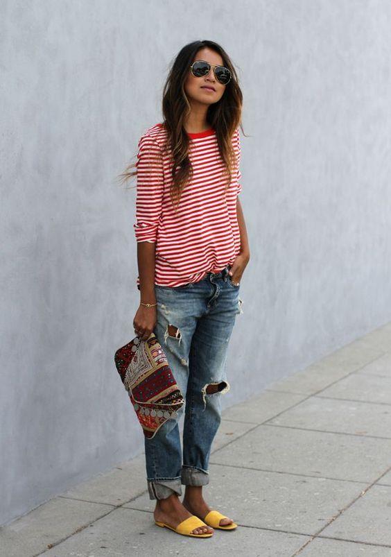 How to Wear Boyfriend Jeans This Spring   Boyfriend jeans, Fashion, How to wear