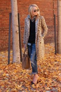 Boyfriend Jeans with a Statement Overcoat