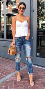 Boyfriend Jeans and the Summer Cami
