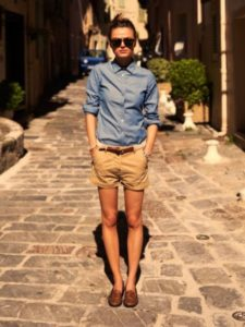 Tomboy Outfits with Boy Shorts