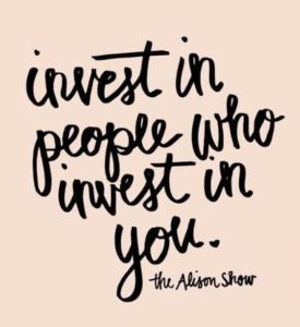 Invest In The Right People
