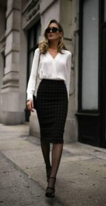 Power Dressing Perfection Pencil Skirt Outfit