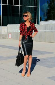 Elevated Street Style Pencil Skirt Outfit