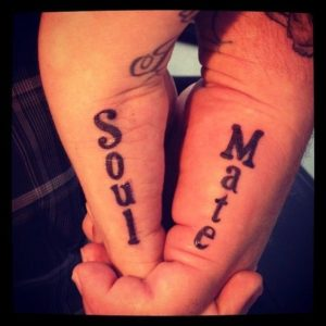 Soulmate tattoo