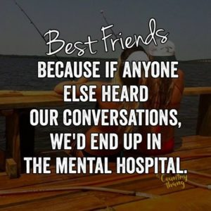 best friends only quote