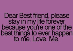 dear best friend quote