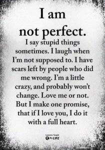 im not perfect quote