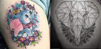 The Best Beautiful Elephant Tattoos