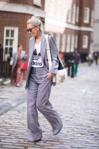 Tailoring with A Sporty Twist Tomboy Outfit