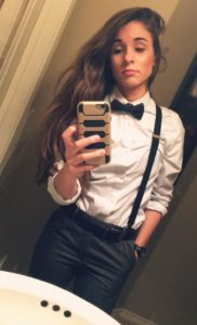 Toyboy Outfit with Bow Tie and Braces