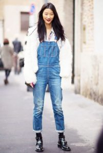 Cute Tomboy Outfit Denim Overalls