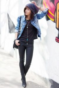 Double Denim with a Difference Boyfriend Outfit