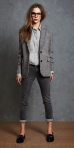 Shades of Grey Tomboy Outfits