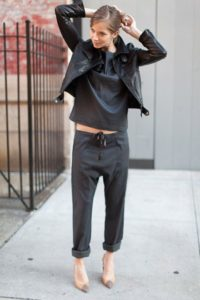 Tailored Joggers Tomboy Outfit