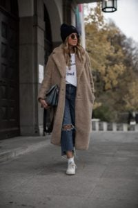 The Teddy Coat Tomboy Outfit