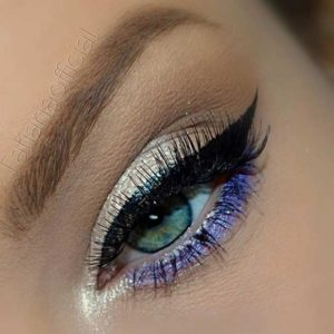 Lilac and Silver Lids