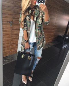 classic camo jacket outfits