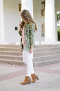 light layers camo outfit