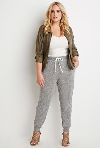 spring sweatpants outfit