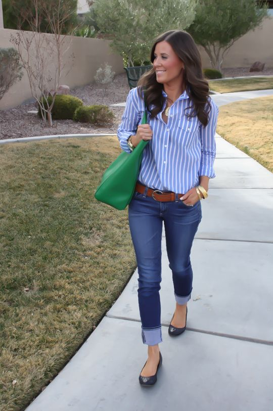 easy preppy look