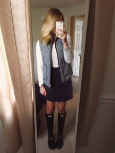 preppy spring outfit