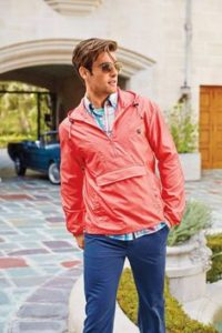 men windbreaker outfit