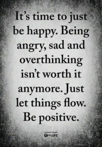 Be Positive quote