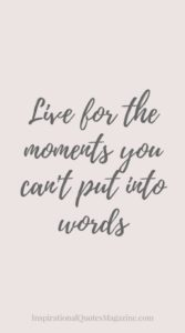 Can't Put Into Words Wedding Quote