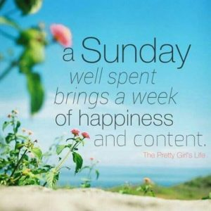 Content Sunday Quote