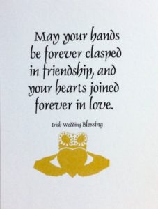 Forever in Love Wedding Quote